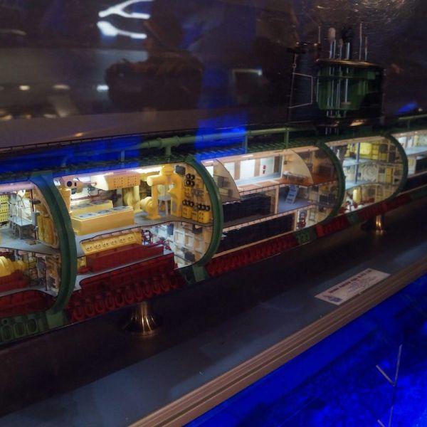 Музей ВМФ + подводная лодка