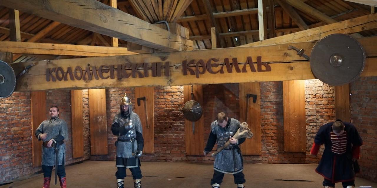 """Комплекс """"Коломенский кремль"""". Шоу ратоборцев"""